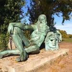 Fig.10 LEONARDO DA VINCI Leonardo da Vinci a Amboise, bzo