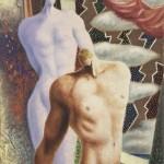 Les-Dioscures-1929-olio-su-tela-65-x-54-cm-Milano-collezione-Prada.-Courtesy-Farsettiarte-Prato-©-Alberto-Savinio-by-SIAE-2021