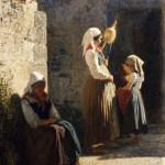 Vincenzo-Cabianca-La-filatrice-1862.-Collezione-privata